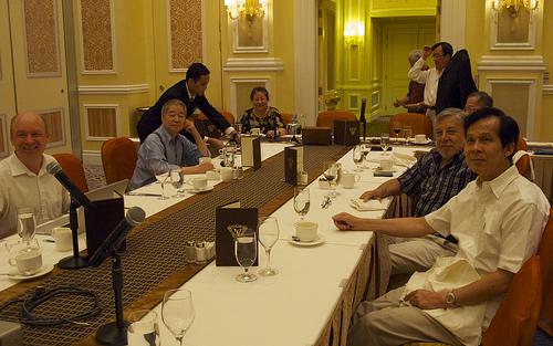 Rotarians from RC Macau